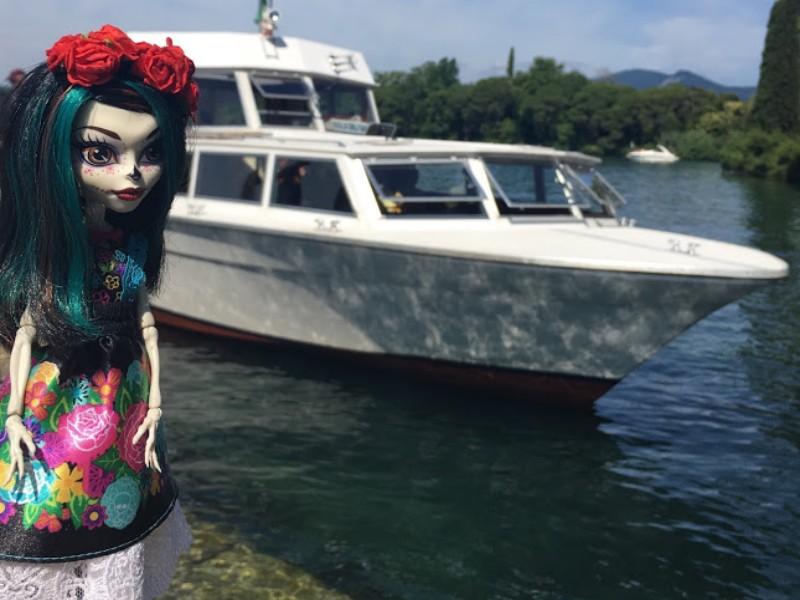 Crackita arrivata alla Isola del Garda