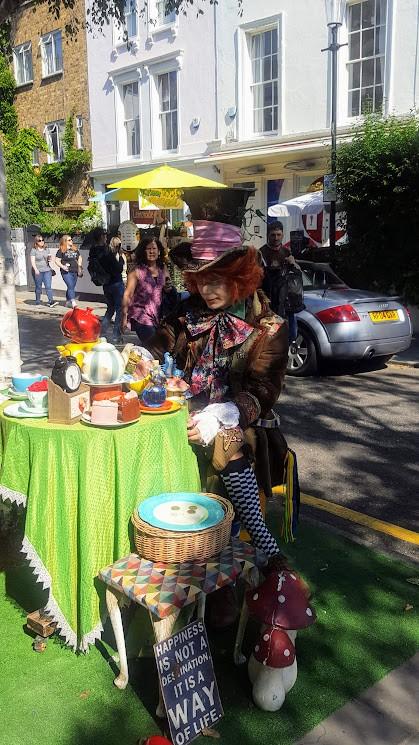 Cappelaio Magico a Londra