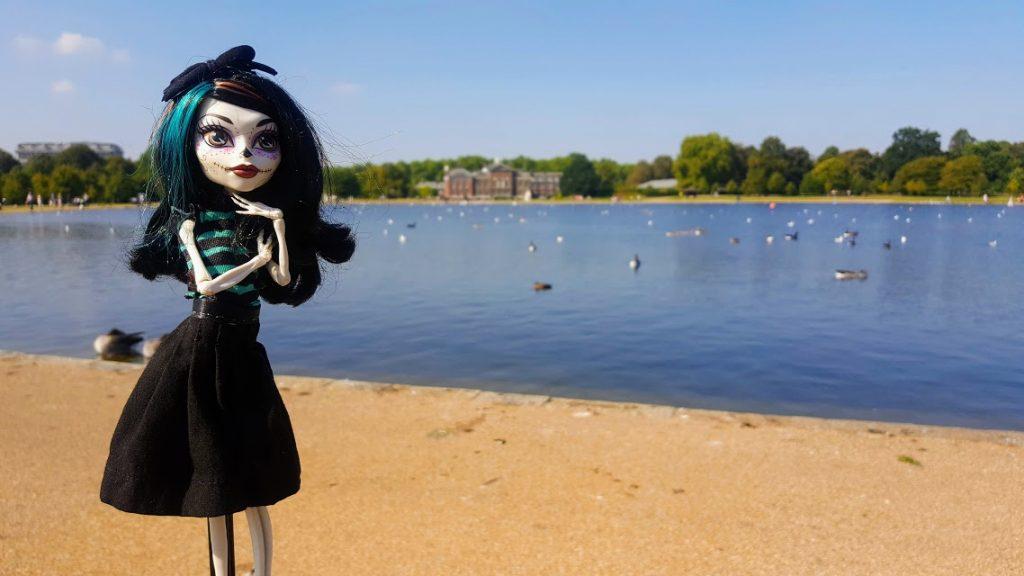 Crackita riva al lago London