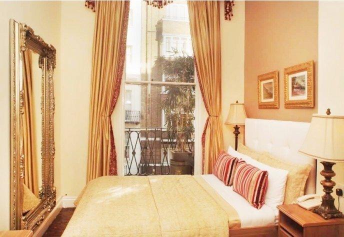 camera albergo a Londra