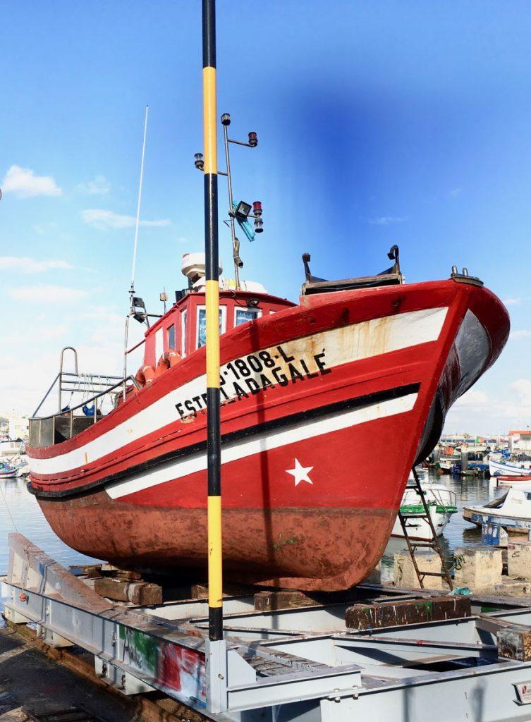 Barca da Pesca a Setubal