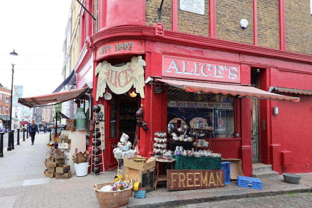negozio Alice's a Londra