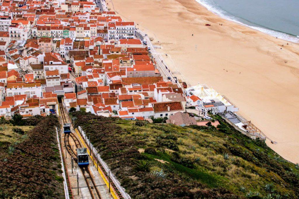 Funiculare per Cosa vedere a Nazaré