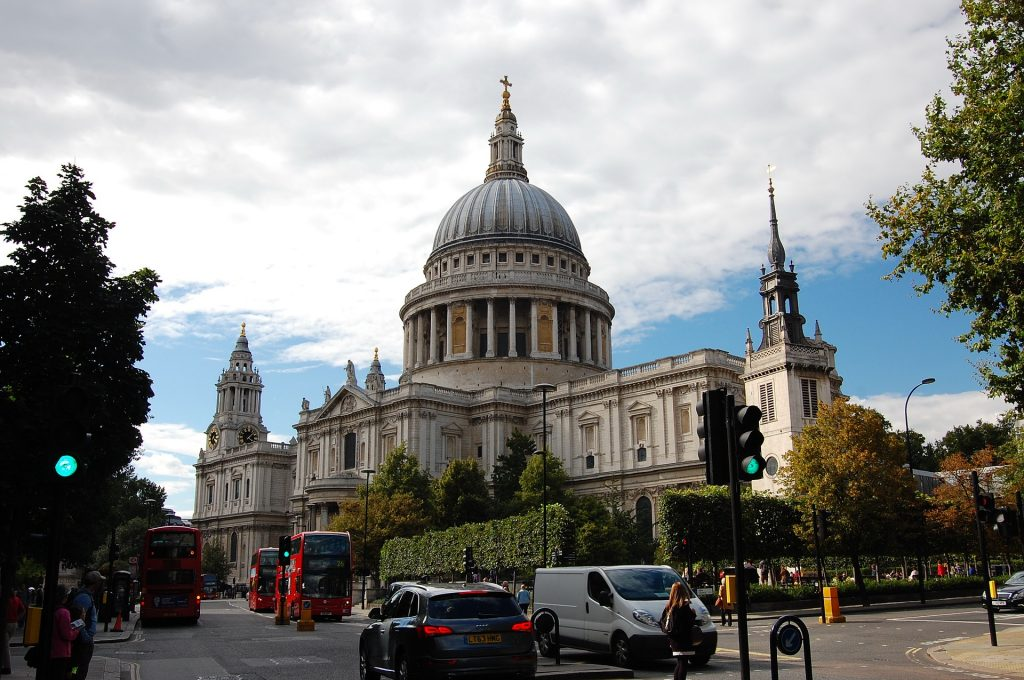 cattedrale a Londra