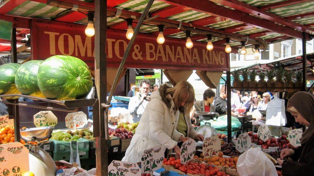 Mercato a Londra