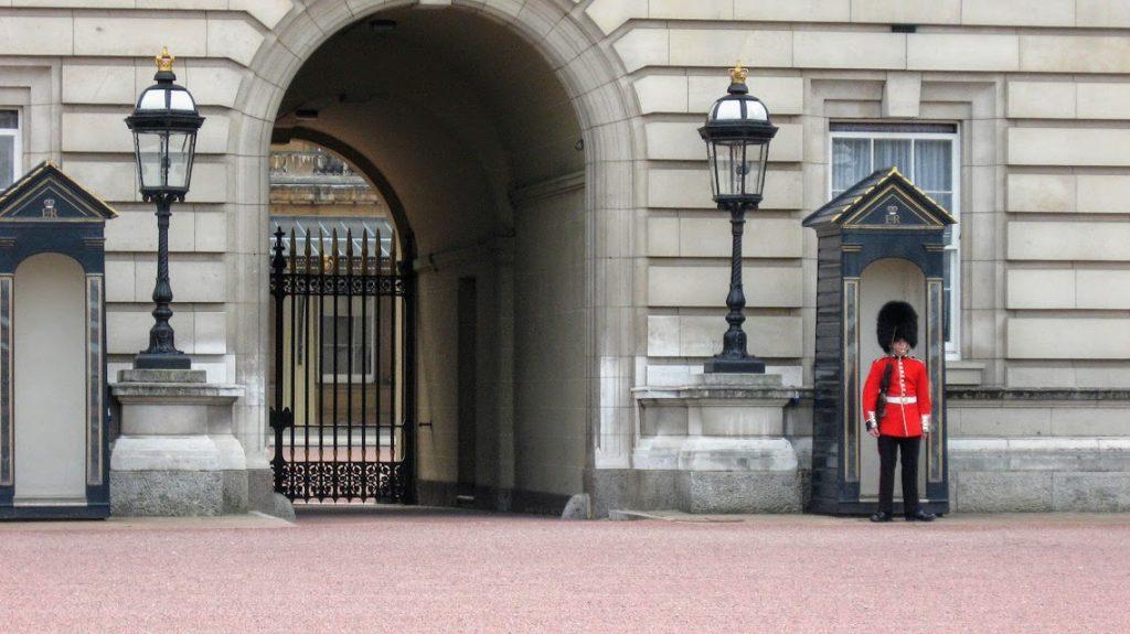 Guardia a Londra