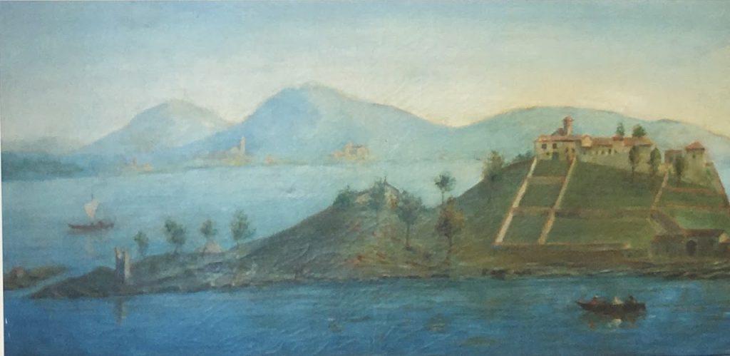 Isola del Garda all'epoca dei fratti