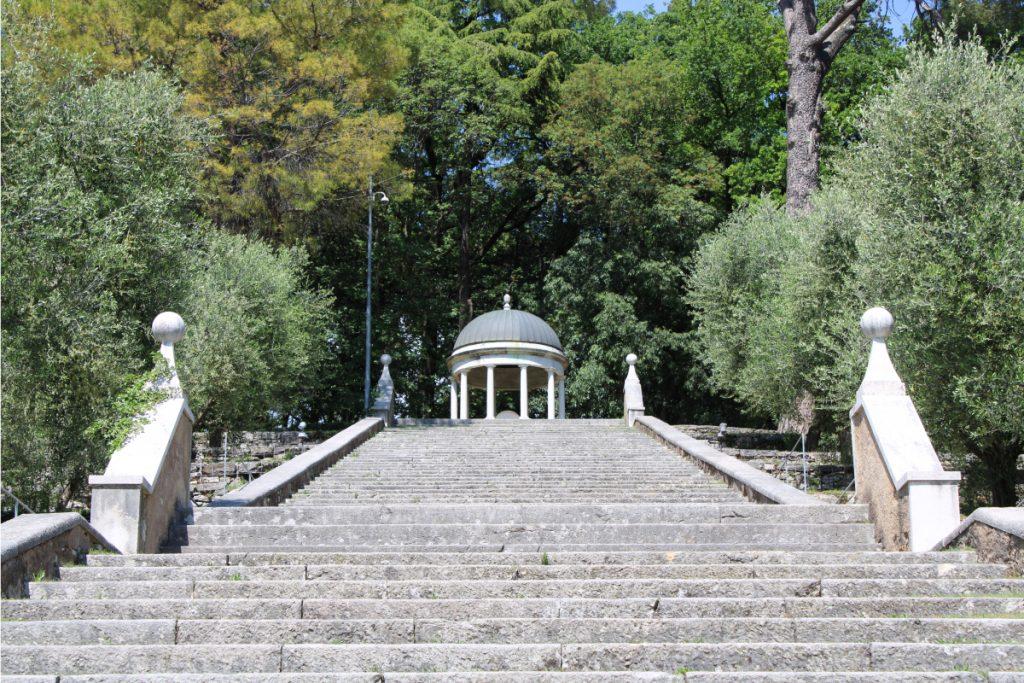 parco di bacco giardini di brescia lombardia giardino monumentale