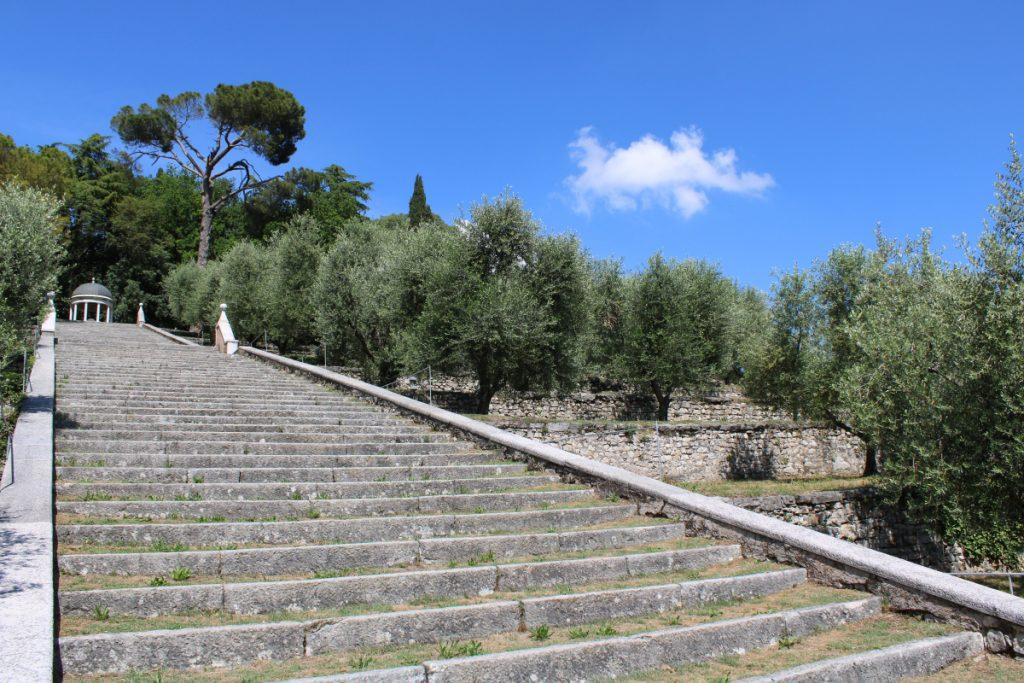 scallinata degli olivi rezzato parco di bacco