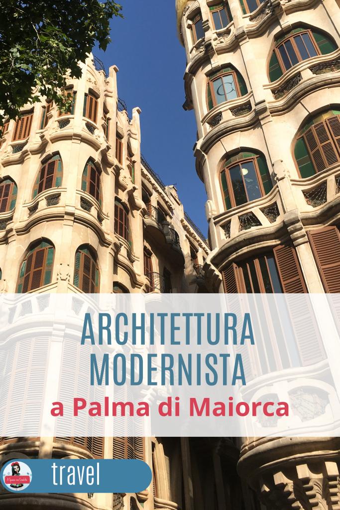 Architettura modernista a Palma di Maiorca grafica Pinterest