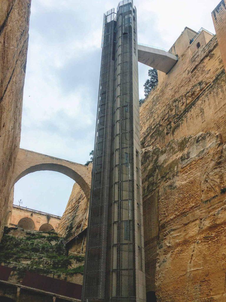 Valletta - Barrakka Lift