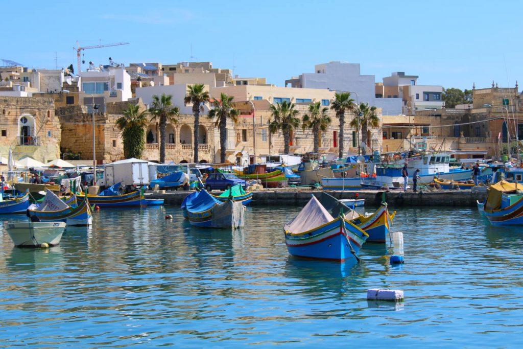 Viaggio a Malta - Marsaxlokk