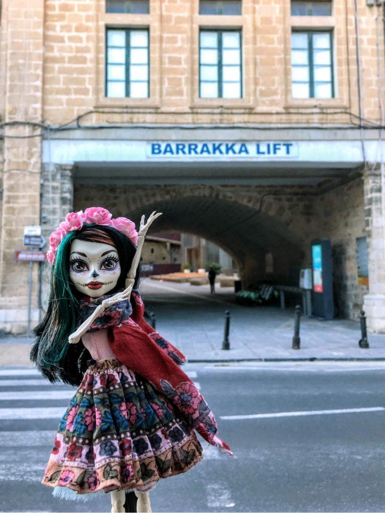 Malta - Barrakka Lift Valletta