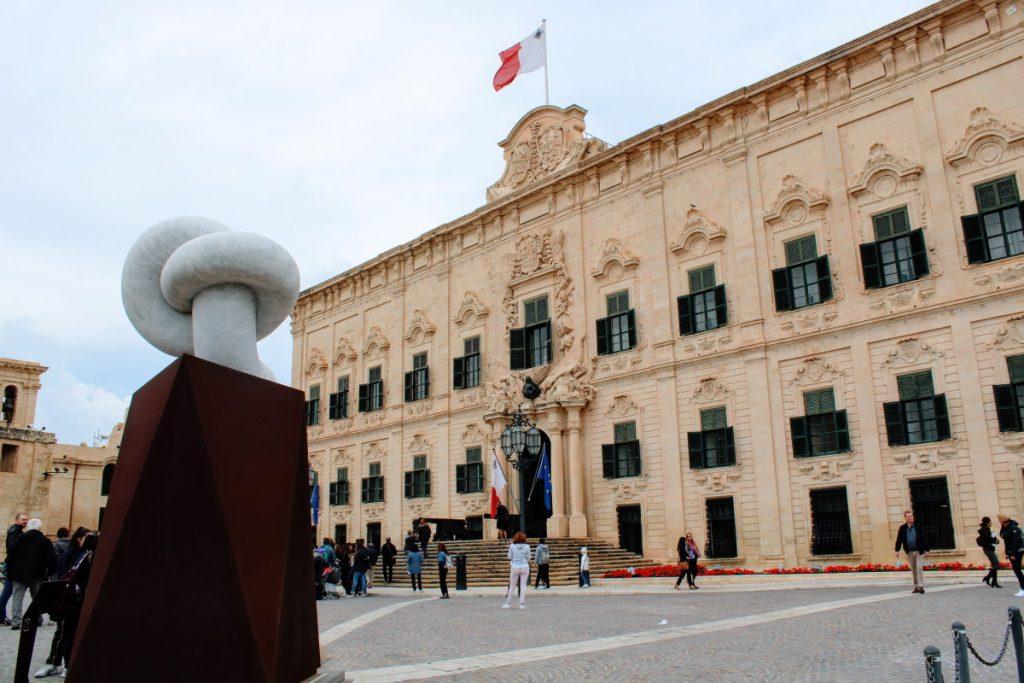 Valletta - Auberge de Castille