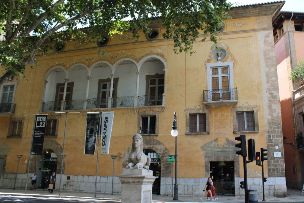 Casal Solleric esterno Palma Maiorca ingresso Gratuito