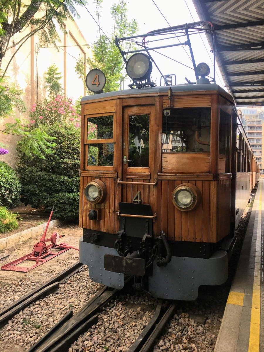 Carrozza del Tren de Sóller