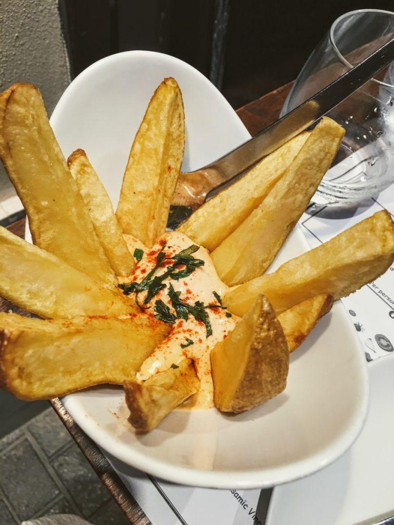 patatas bravas a Palma