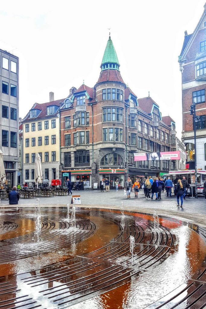 Fontana raso suolo Cosa vedere a Copenaghen in due giorni