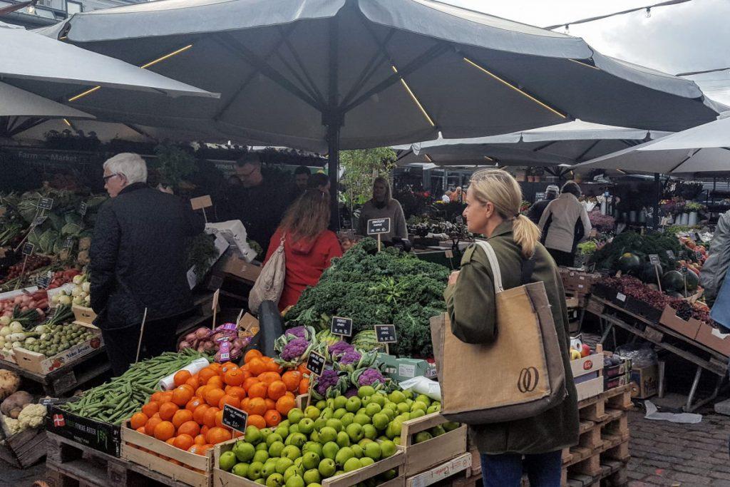 Dove mangiare a Copenaghen mercato