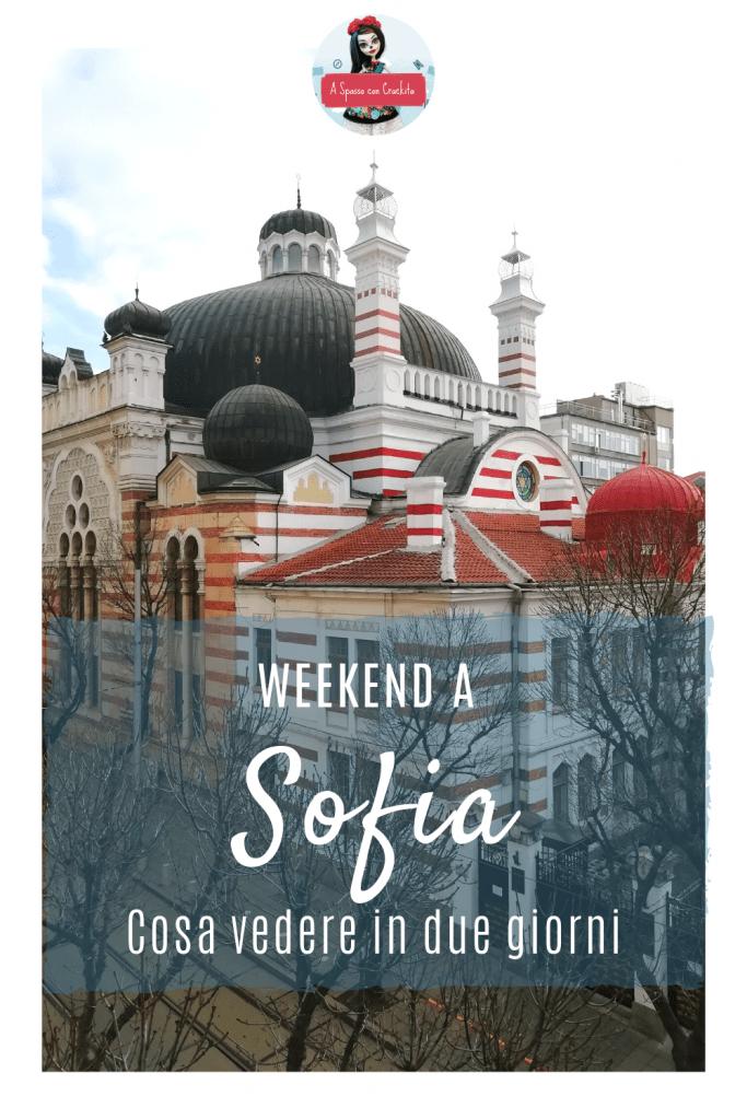 Cosa vedere a Sofia grafica per instagram