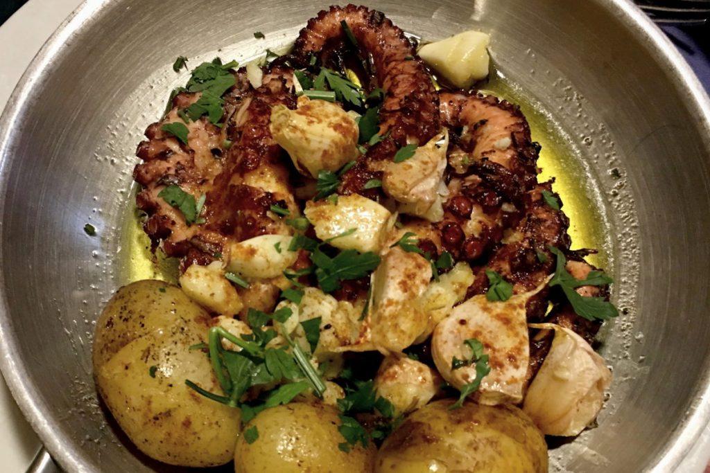 Polvo à lagareiro piatti tipici della cucina portoghese
