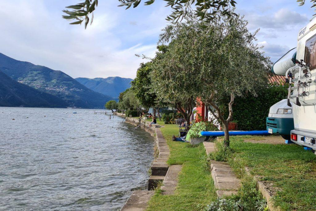 Campeggio sul Lago d'Iseo