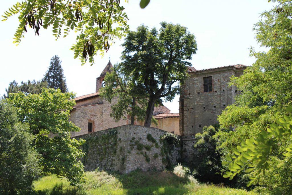 Monastero San Pietro in Lamosa ingresso centrale