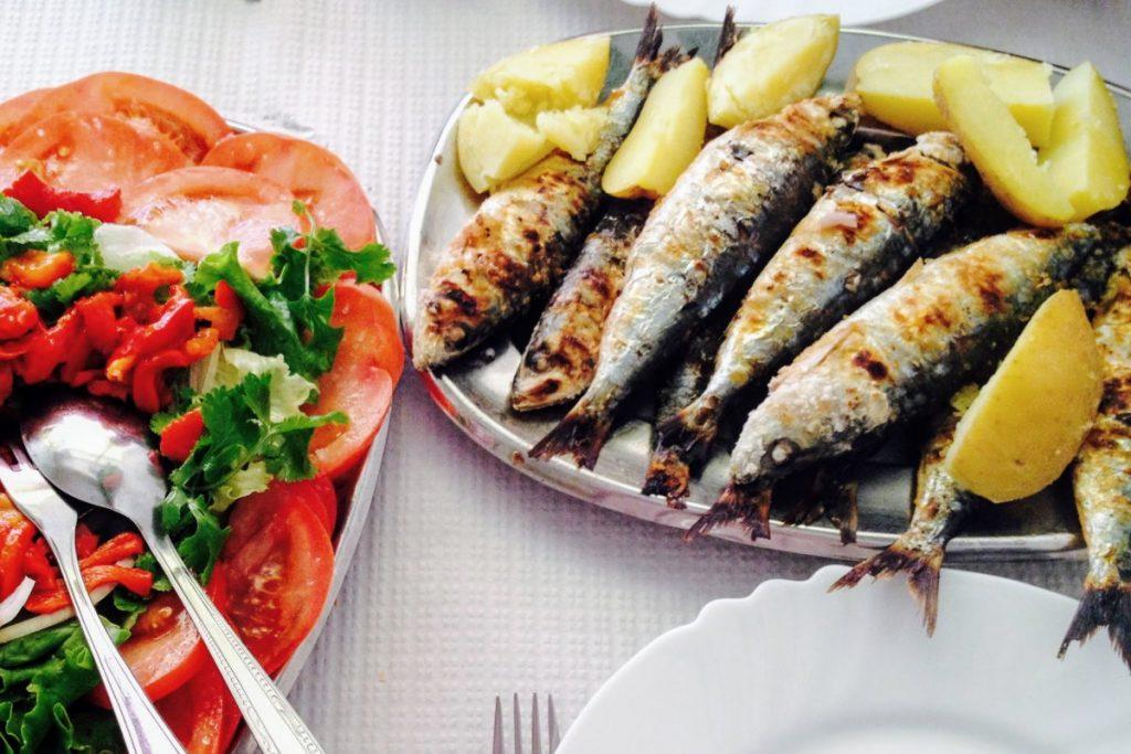 Sardinhas da mangiare in portogallo