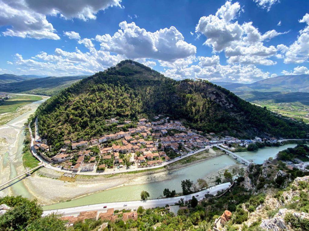Vista dal Castello di Berat
