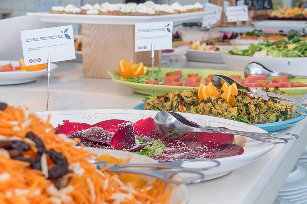 mangiare vegetariano a lisbona - da terra