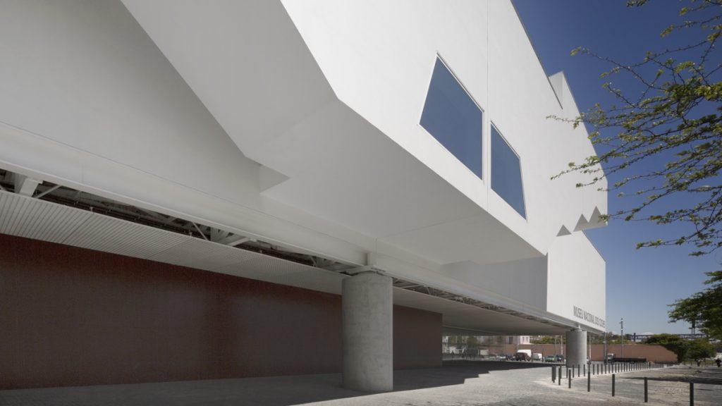 Palazzo del museo delle carrozze a Lisbona