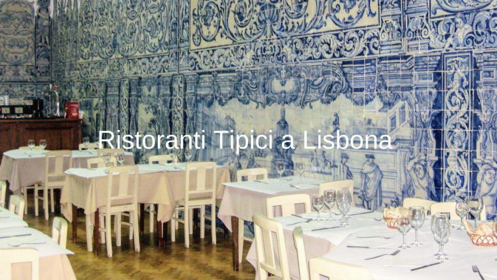 Ristoranti tipici a Lisbona Blog Banner