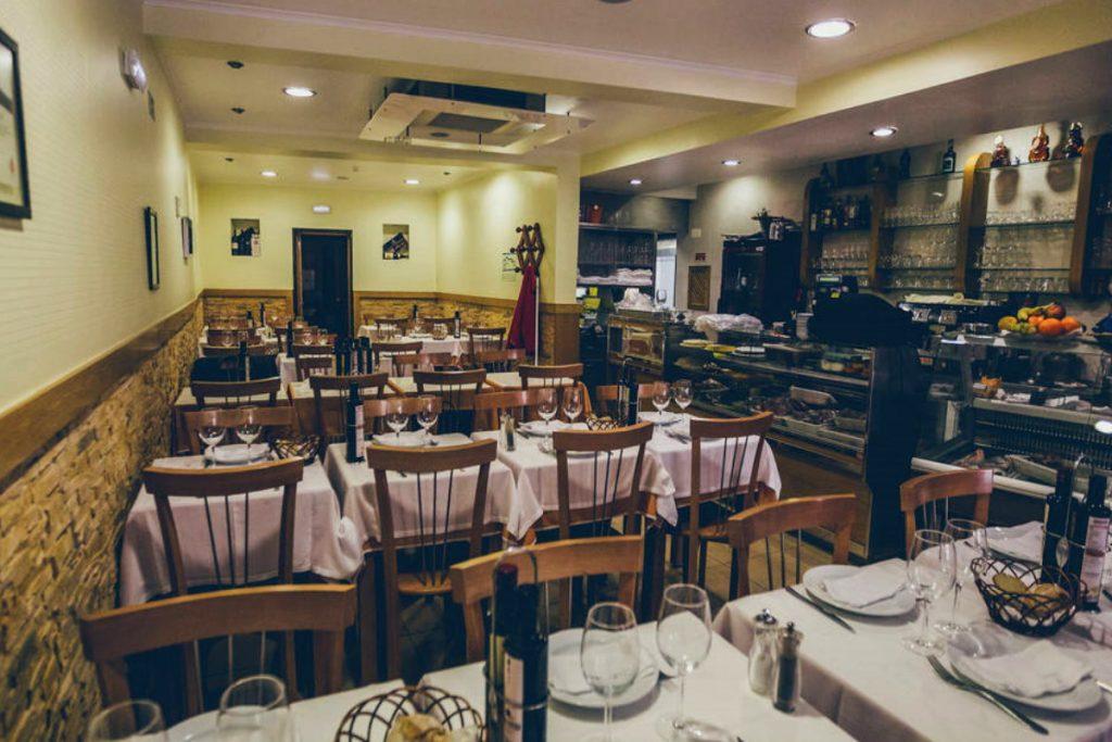 ristorante tradizionale a Lisbona