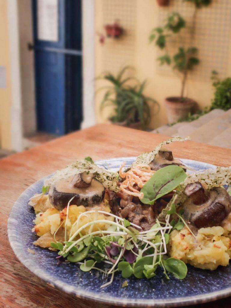 The Food Temple - mangiare vegetariano a lisbona