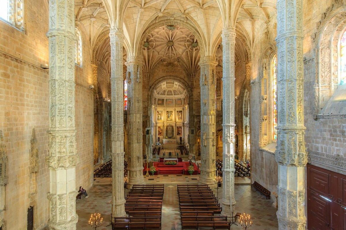 mosteiro dos jeronimos a Belém