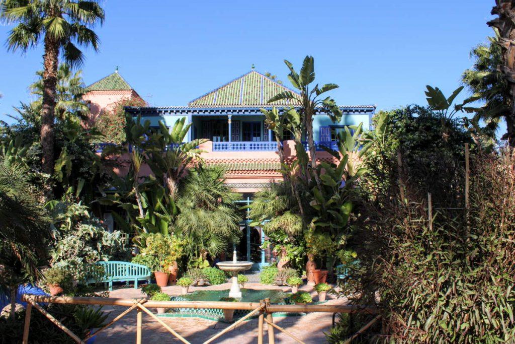 Jardin Majorelle a Marrakech