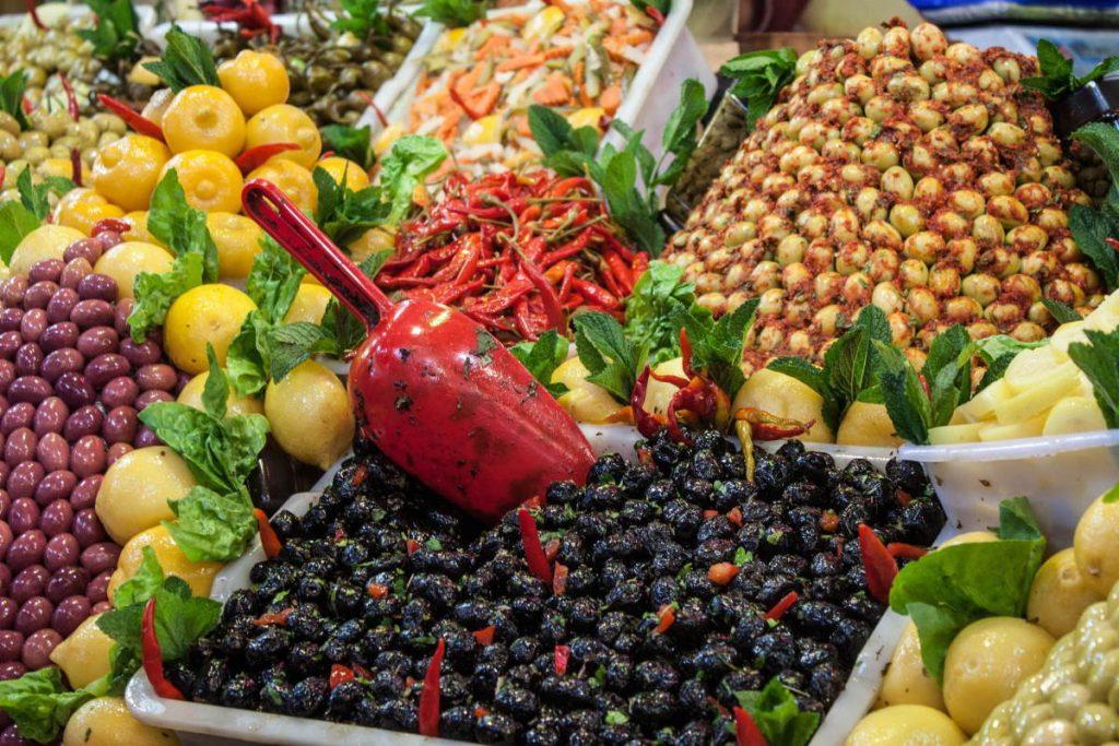 Olive e limoni nella Cucina Marocchina