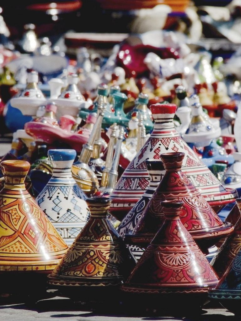 Tajine in terracotta marocchine