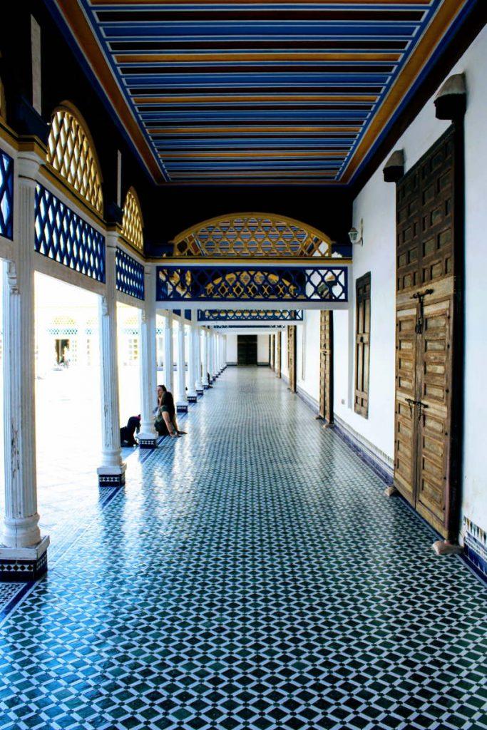 Visitare Marrakech in due giorni Palazzo Bahia