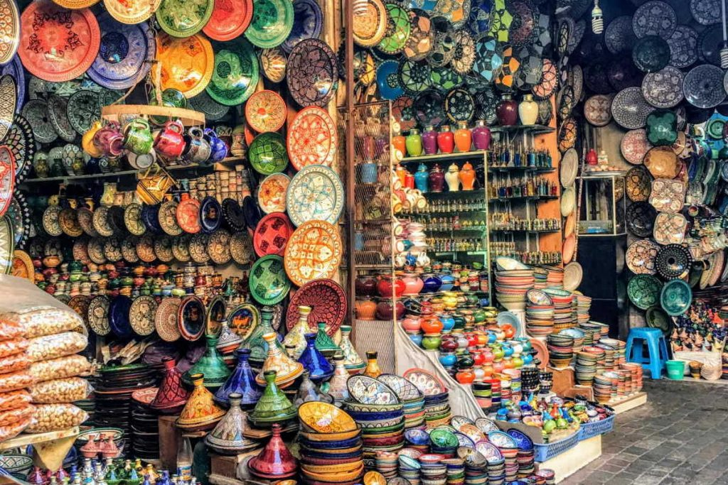 shopping a Marrakesh