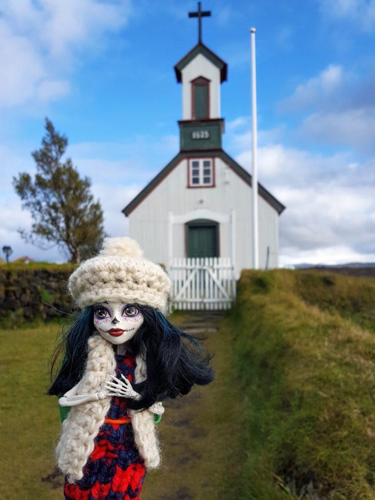 Chiesa in Islanda e Crackita