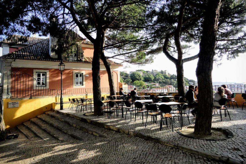 Lisbona Miradouro da Graça