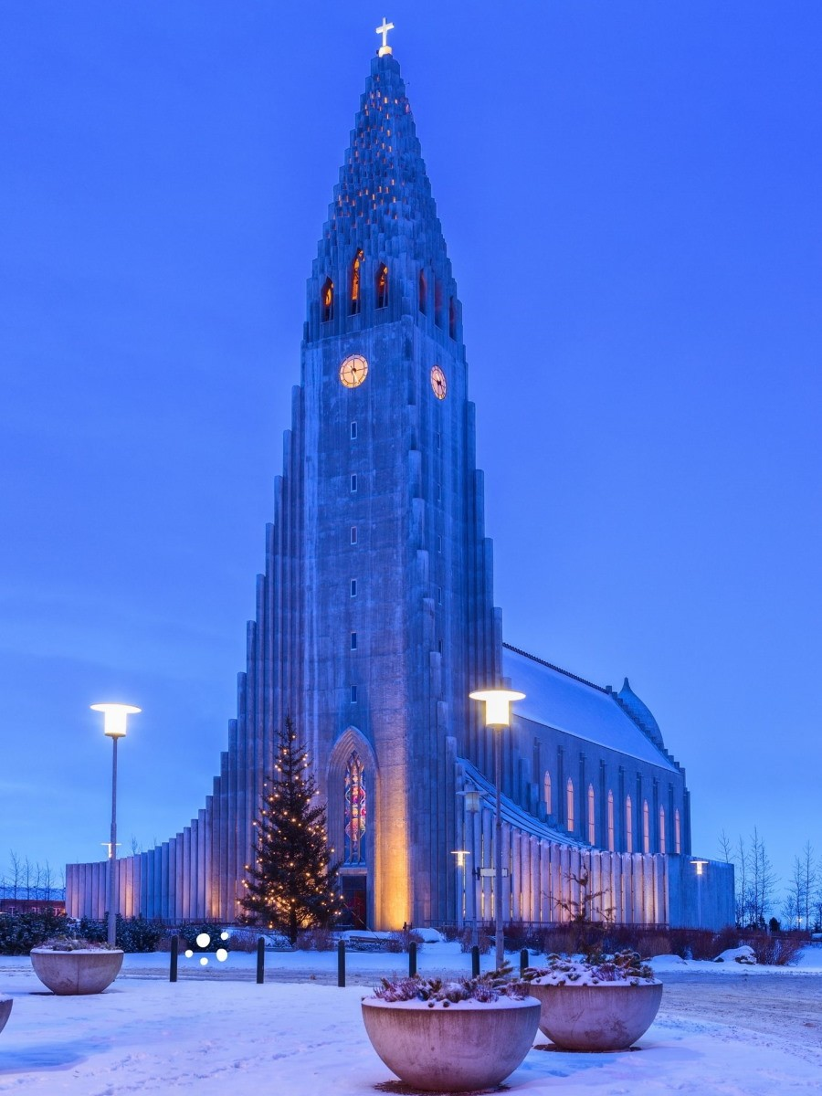 Natale in Islanda chiesa