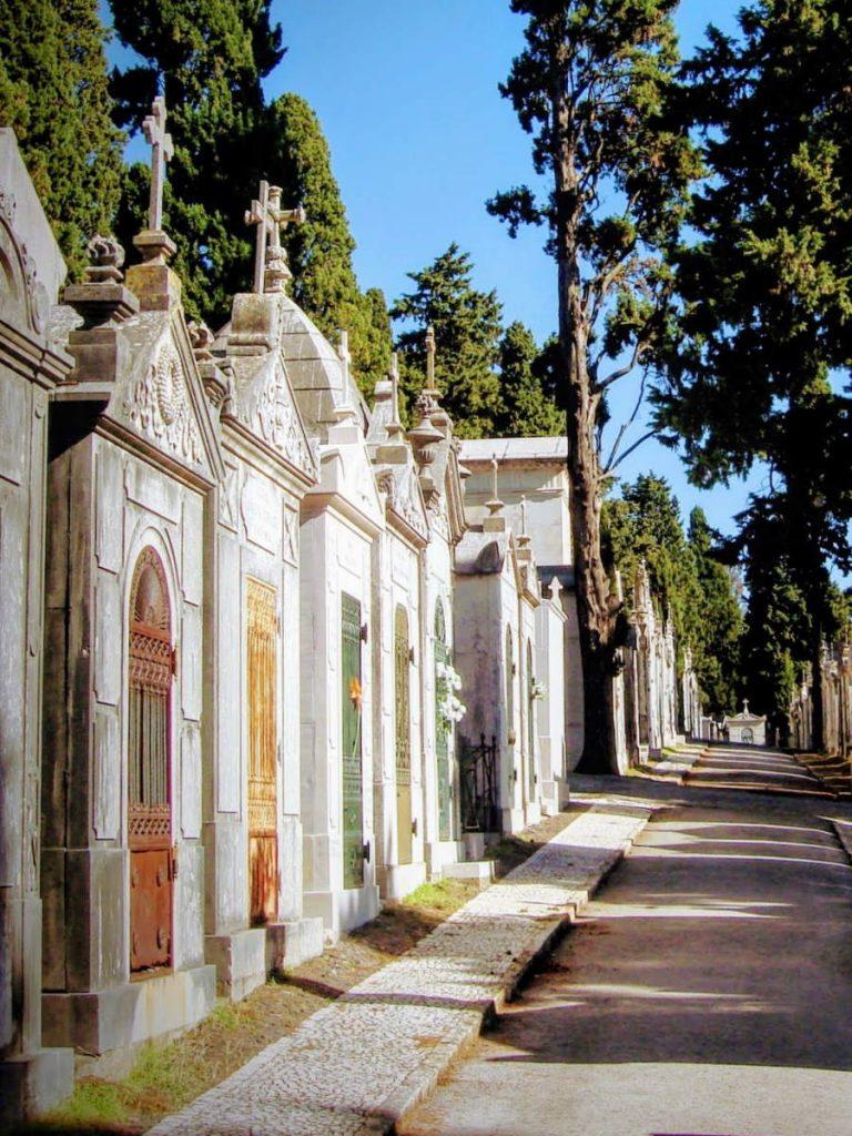 Cimiteri monumentali di Lisbona - Sepolcri cemiterio dos Prazeres