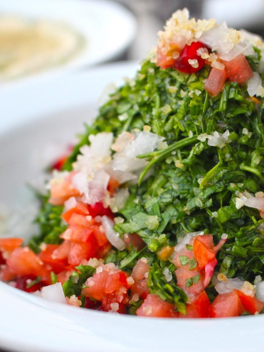 Tabbouleh ricetta Palestinese