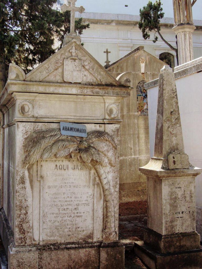 Cemiterio dos Prazeres tomba