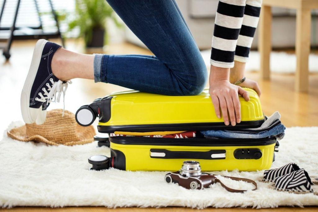 errori da non fare quando viaggi da sola - bagaglio