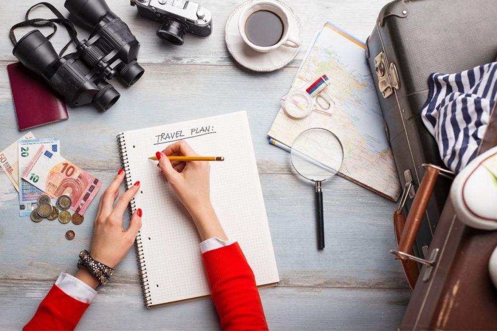 errori da non fare quando viaggi da sola - non pianificare
