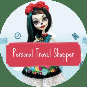 Personal Travel shopper assistente di viaggio