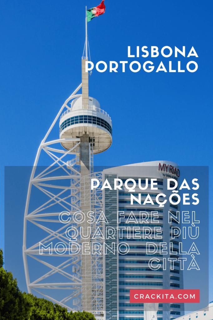 cosa fare nel quartiere più moderno di Lisbona grafica per pinterest